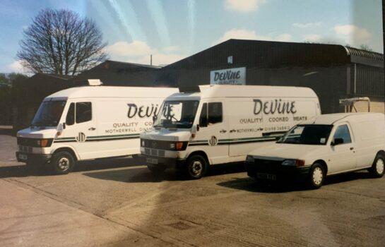 Devine Quality Foods Vans